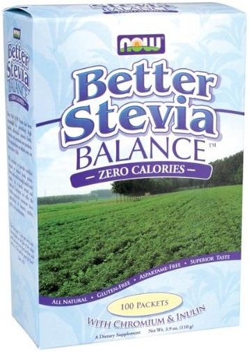 Better Stevia, Balance with Inulin and Chromium - 100 packets versandkostenfrei/portofrei bestellen/kaufen