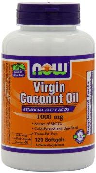 Virgin Coconut Oil, 1000mg - 120 softgels versandkostenfrei/portofrei bestellen/kaufen