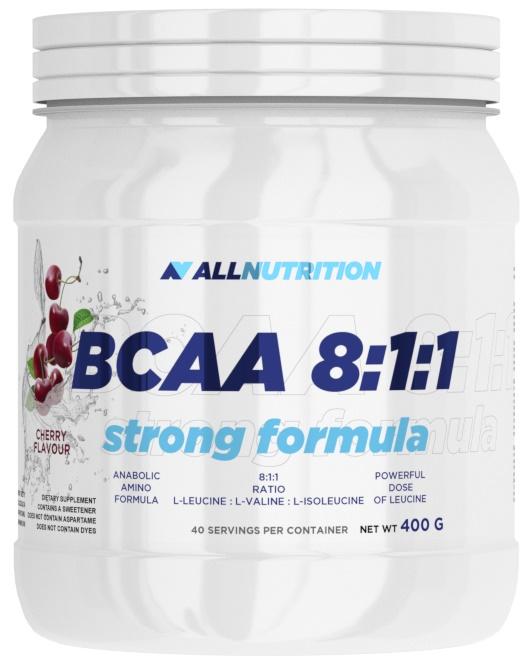 BCAA 8:1:1 Strong Formula, Strawberry - 400g versandkostenfrei/portofrei bestellen/kaufen