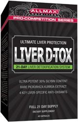 AllMax Nutrition Liver D-Tox - 42 caps