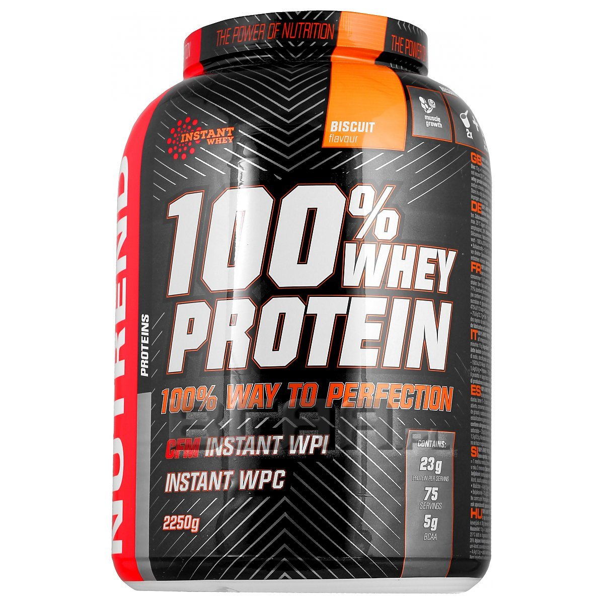 100% Whey Protein, Blueberry - 2250g versandkostenfrei/portofrei bestellen/kaufen