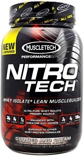 Nitro-Tech Performance Series, Strawberry - 907g versandkostenfrei/portofrei bestellen/kaufen