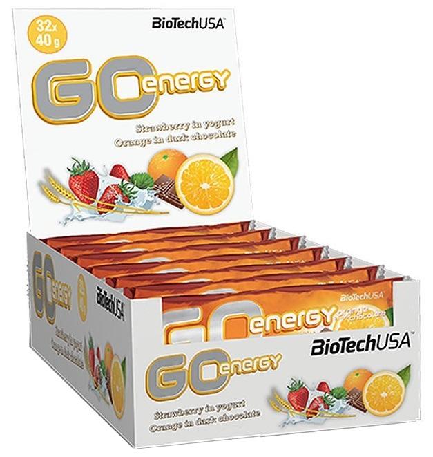 GO Energy Bar, Orange in Dark Chocolate - 32 bars versandkostenfrei/portofrei bestellen/kaufen