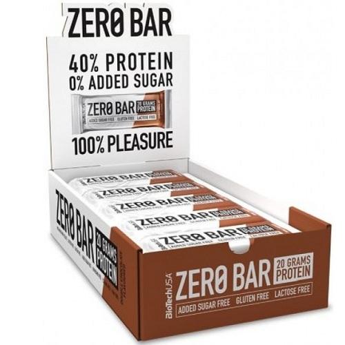 Zero Bar, Double Chocolate - 20 x 50g versandkostenfrei/portofrei bestellen/kaufen