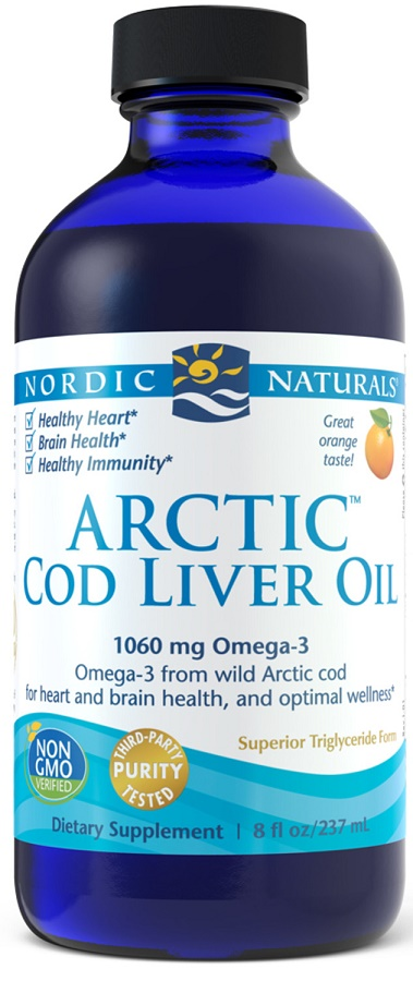 Arctic Cod Liver Oil, 1060mg Lemon - 237 ml. versandkostenfrei/portofrei bestellen/kaufen