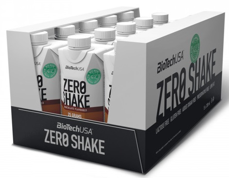 Zero Shake, Chocolate Caramel - 15 x 330 ml. versandkostenfrei/portofrei bestellen/kaufen