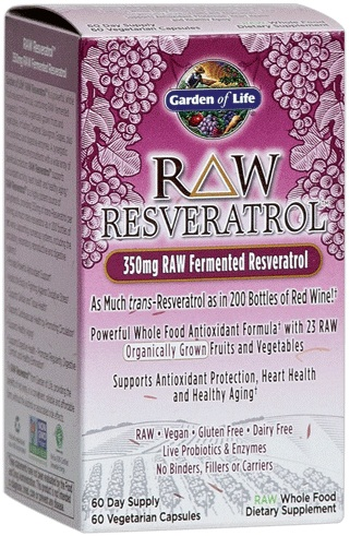 RAW Resveratrol - 60 caps versandkostenfrei/portofrei bestellen/kaufen