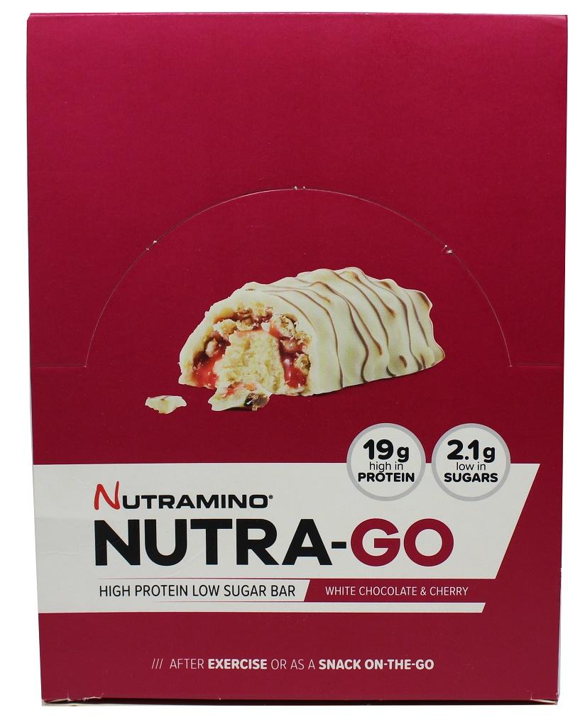 Nutra-Go Bar, White Chocolate & Lemon - 12 x 64g versandkostenfrei/portofrei bestellen/kaufen