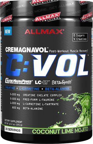 AllMax Nutrition Cremagnavol C:VOL, Raspberry Kiwi Kamikaze - 375g