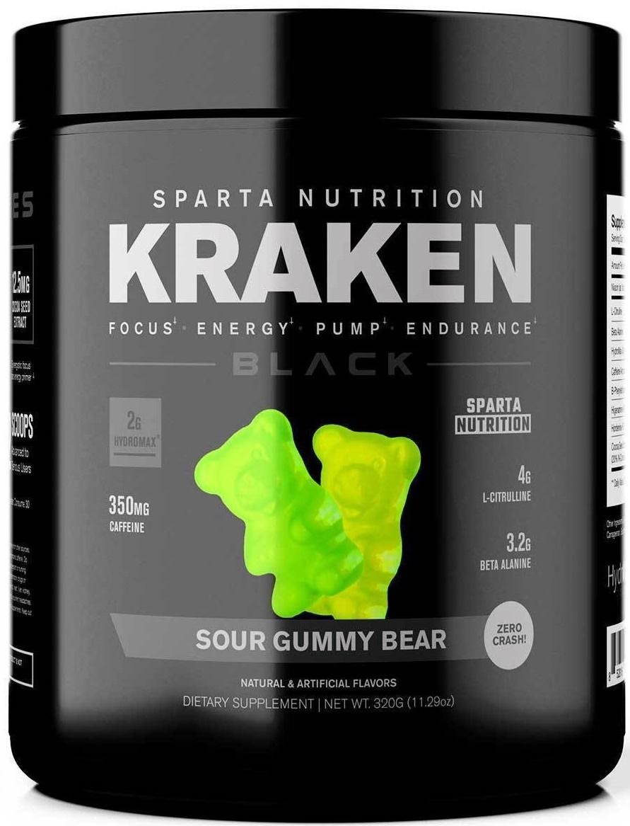 Kraken Black, Gummy Bear - 320g versandkostenfrei/portofrei bestellen/kaufen