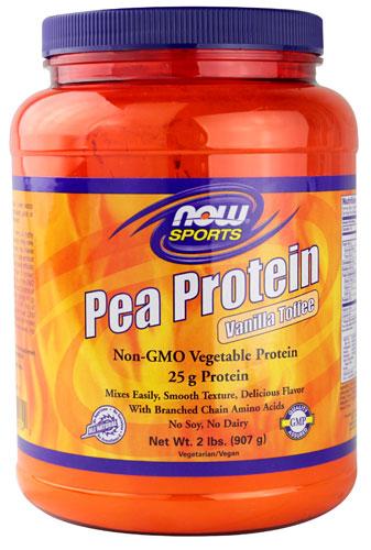 Pea Protein, Vanilla Toffee - 907g versandkostenfrei/portofrei bestellen/kaufen