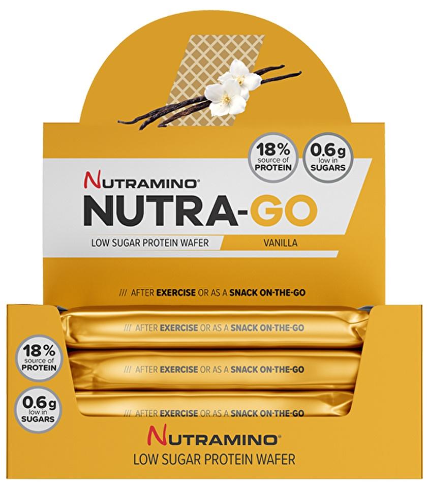 Nutra-Go Protein Wafer, Vanilla - 12 x 39g versandkostenfrei/portofrei bestellen/kaufen