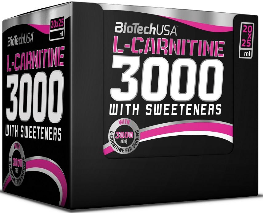 L-Carnitine 3000, Lemon - 20 x 25 ml. versandkostenfrei/portofrei bestellen/kaufen
