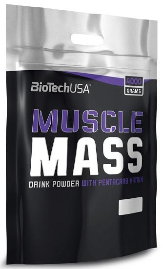 Muscle Mass, Chocolate - 4000g versandkostenfrei/portofrei bestellen/kaufen