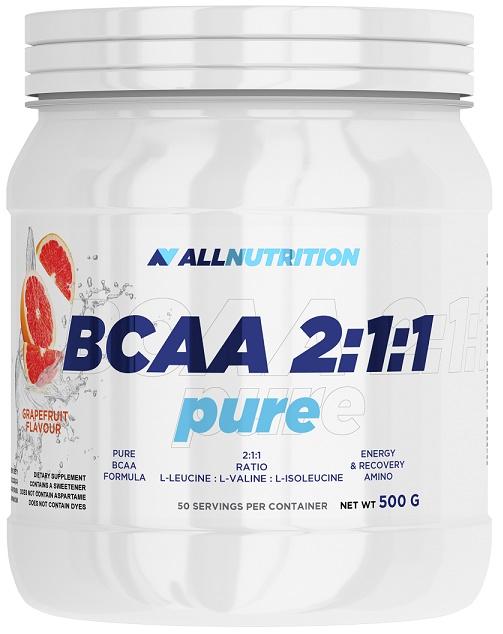 BCAA 2:1:1 Pure, Strawberry - 500g versandkostenfrei/portofrei bestellen/kaufen