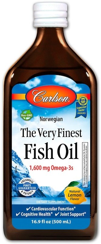 Norwegian The Very Finest Fish Oil, Natural Orange - 500 ml. versandkostenfrei/portofrei bestellen/kaufen