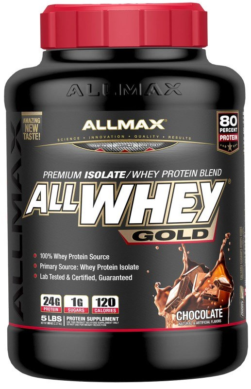 AllMax Nutrition AllWhey Gold, Cookies & Cream - 2270g