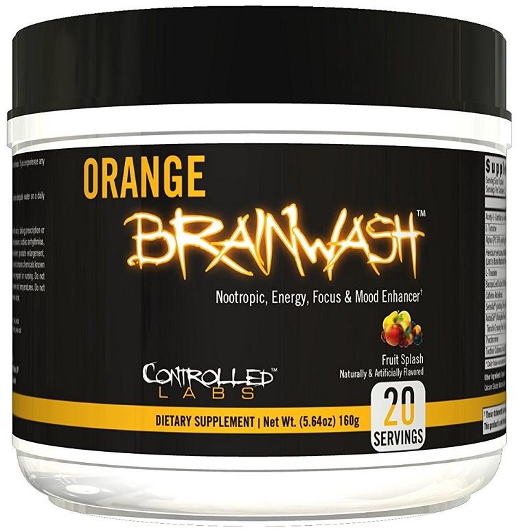 160g, 25,15 EUR/100g Controlled Labs Orange BrainWash, Lemon Frost - 160g