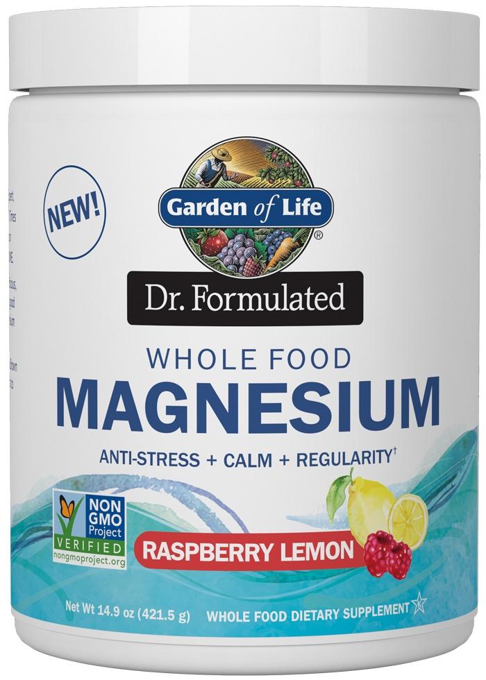 Dr. Formulated Whole Food Magnesium, Raspberry Lemon - 421g versandkostenfrei/portofrei bestellen/kaufen
