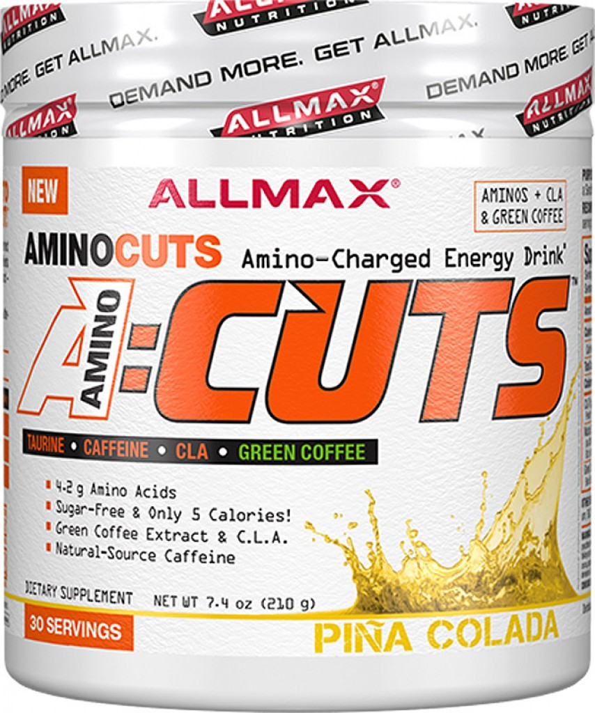 AllMax Nutrition AminoCuts A:Cuts, Blue Raspberry - 252g