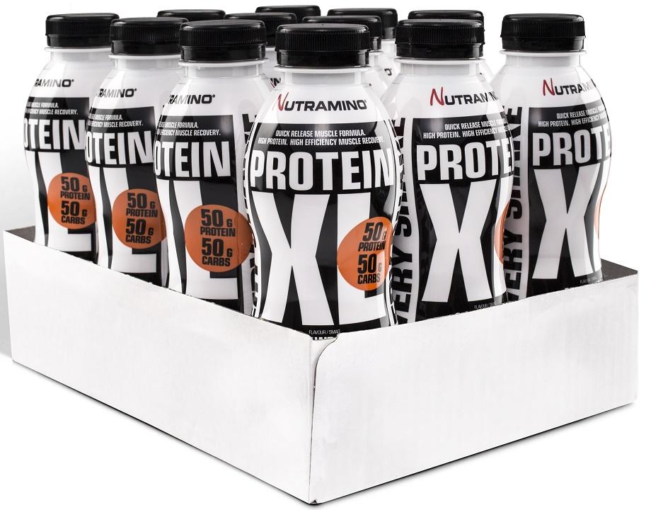 Protein XL Shake, Strawberry - 12 x 500 ml. versandkostenfrei/portofrei bestellen/kaufen