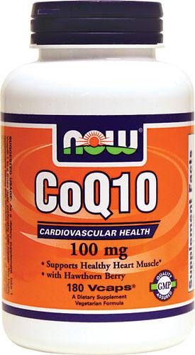 CoQ10 with Hawthorn Berry, 100mg - 180 vcaps versandkostenfrei/portofrei bestellen/kaufen