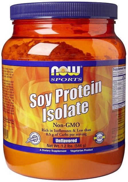 Soy Protein Isolate Non-GMO, Unflavored - 544g versandkostenfrei/portofrei bestellen/kaufen