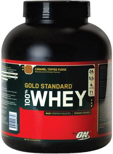 100% Whey Gold Standard Protein, Delicious Strawberry - 2273g versandkostenfrei/portofrei bestellen/kaufen
