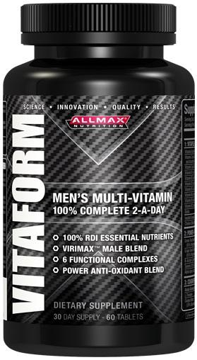 AllMax Nutrition Vitaform - 60 tablets