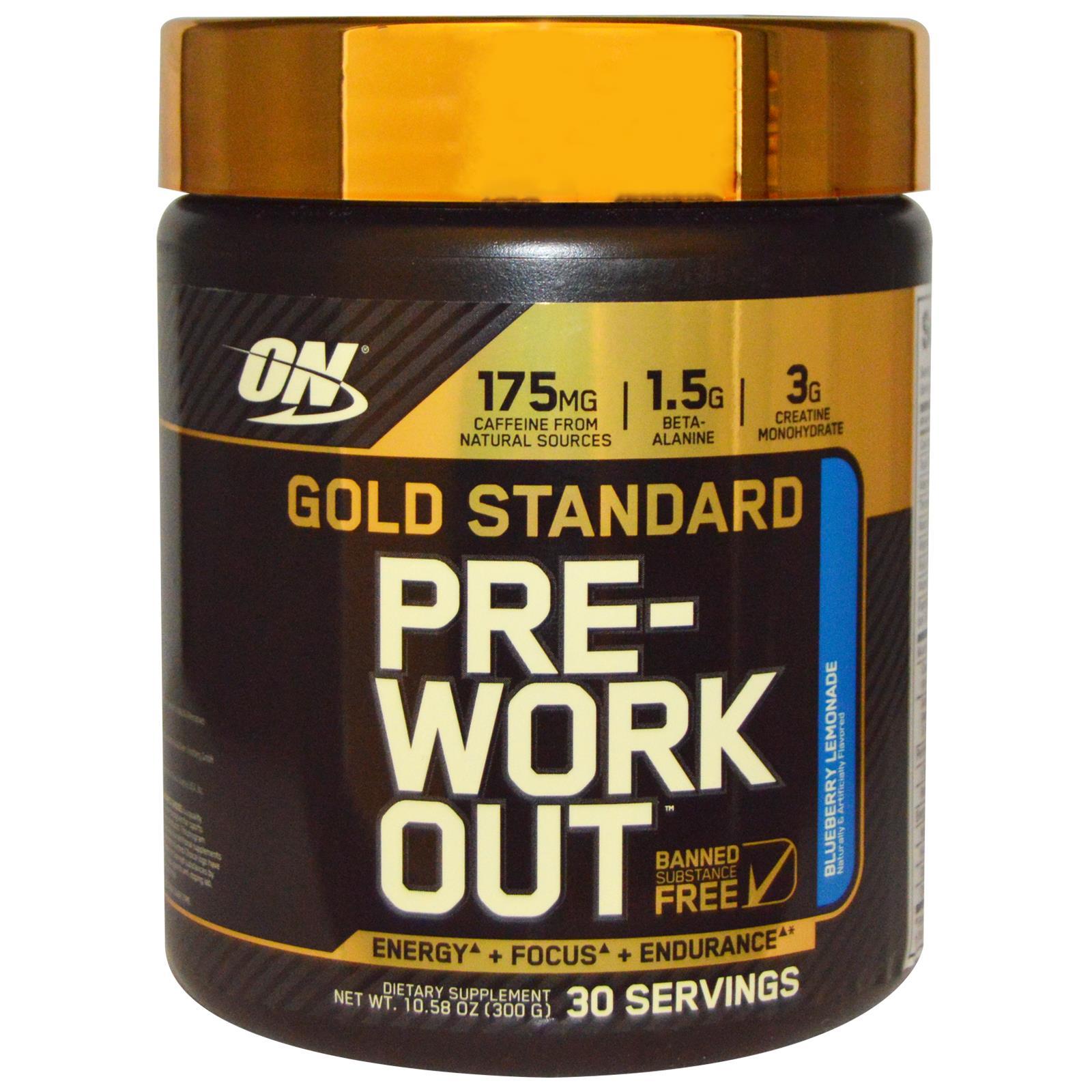 Gold Standard Pre-Workout, Pink Lemonade - 330g versandkostenfrei/portofrei bestellen/kaufen