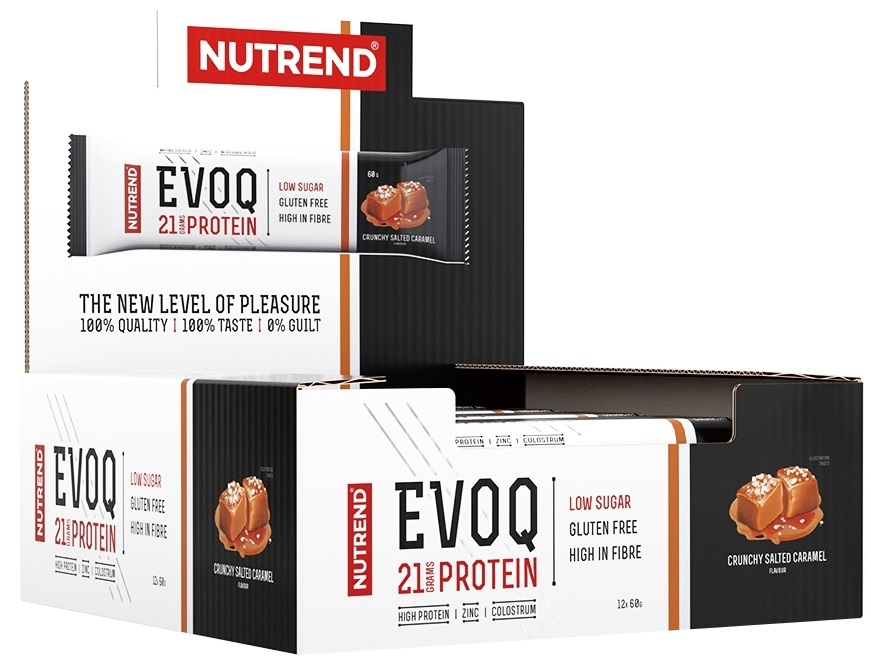 EVOQ Bar, Crunchy Salted Caramel - 12 bars versandkostenfrei/portofrei bestellen/kaufen