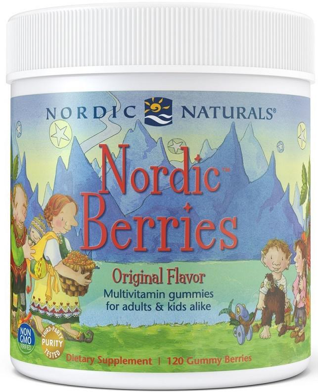 Nordic Berries Multivitamin, Cherry Berry - 120 gummy berries versandkostenfrei/portofrei bestellen/kaufen