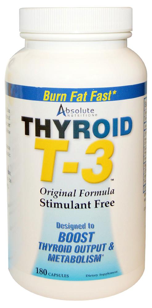 Thyroid T3 - 180 caps versandkostenfrei/portofrei bestellen/kaufen