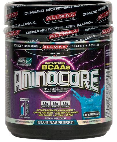AllMax Nutrition Aminocore, Blue Raspberry - 462g