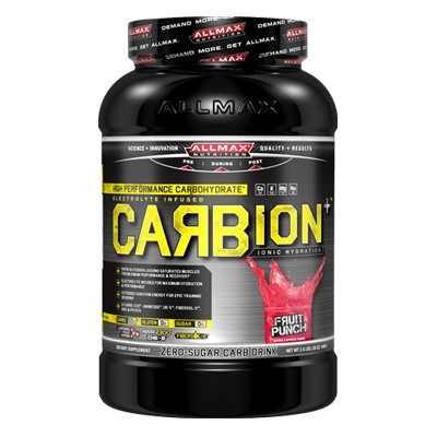 AllMax Nutrition Carbion+, Fruit Punch - 1080g
