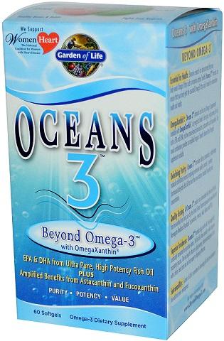 Oceans 3, Beyond Omega-3 - 60 softgels versandkostenfrei/portofrei bestellen/kaufen