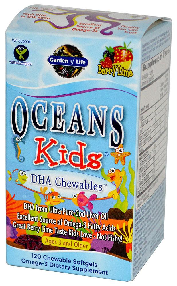 Oceans Kids DHA Chewables - 120 softgels versandkostenfrei/portofrei bestellen/kaufen