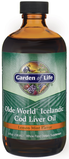 Olde World Icelandic Cod Liver Oil, Lemon Mint - 236 ml. versandkostenfrei/portofrei bestellen/kaufen