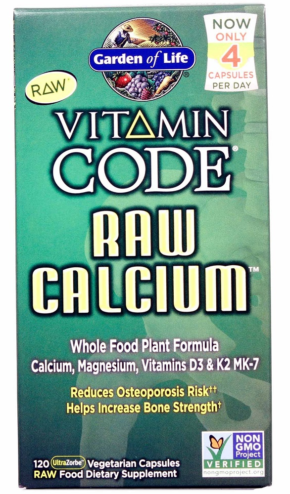 120g, 37,14 EUR/100g Garden of Life RAW Calcium - 120 vcaps