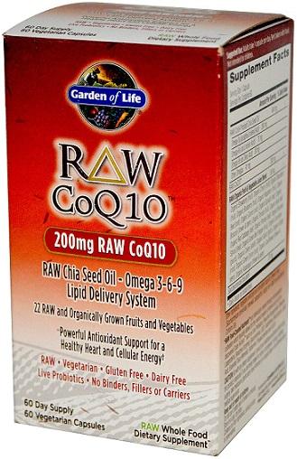 RAW CoQ10, 200mg - 60 vcaps versandkostenfrei/portofrei bestellen/kaufen