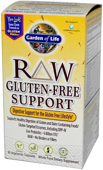RAW Gluten-Free Support - 90 vcaps versandkostenfrei/portofrei bestellen/kaufen