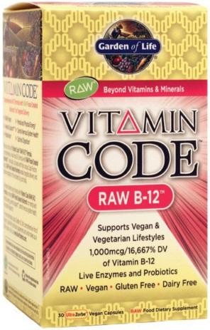 Vitamin Code RAW B-12 - 30 vcaps versandkostenfrei/portofrei bestellen/kaufen