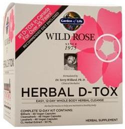 Wild Rose Herbal D-Tox - 1 kit versandkostenfrei/portofrei bestellen/kaufen