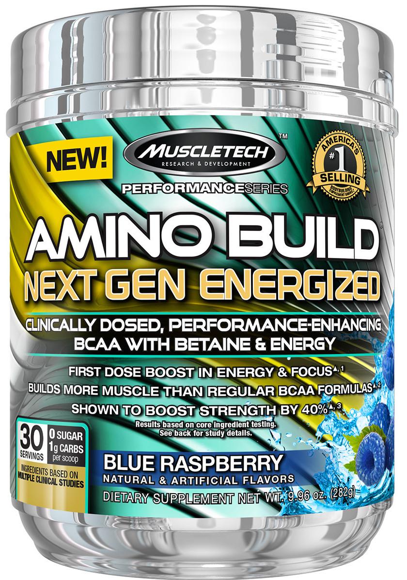 Amino Build - Next Gen Energized, Concord Grape - 280g versandkostenfrei/portofrei bestellen/kaufen