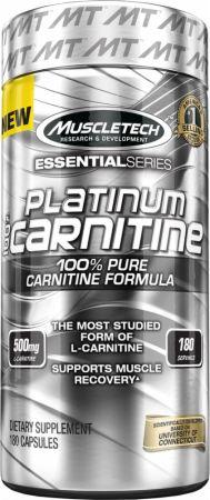 Platinum 100% Carnitine, 500mg - 180 caps versandkostenfrei/portofrei bestellen/kaufen