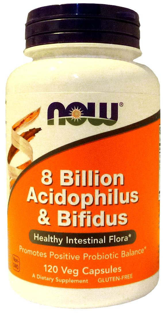 8 Billion Acidophilus & Bifidus - 120 vcaps versandkostenfrei/portofrei bestellen/kaufen