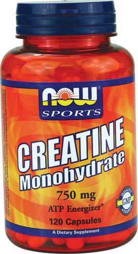 Creatine Monohydrate, 750mg (Caps) - 120 caps versandkostenfrei/portofrei bestellen/kaufen