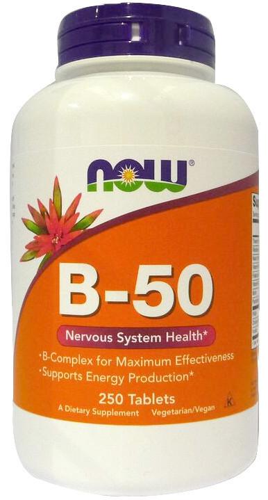 Vitamin B-50 - 250 tablets versandkostenfrei/portofrei bestellen/kaufen