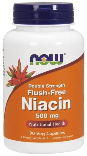 Flush-Free Niacin, 500mg - 90 vcaps versandkostenfrei/portofrei bestellen/kaufen