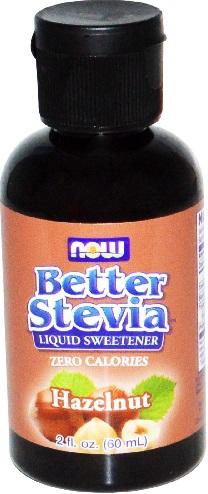 Better Stevia - Liquid Extract, Hazelnut - 60 ml. versandkostenfrei/portofrei bestellen/kaufen